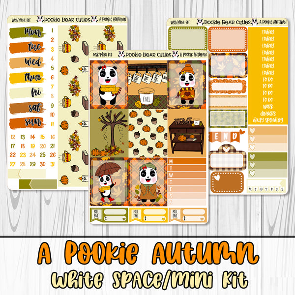 A Pookie Autumn White Space Kit