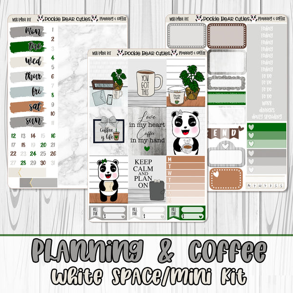Planning & Coffee White Space Kit
