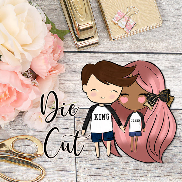 Die Cut Cute Dolls Couples