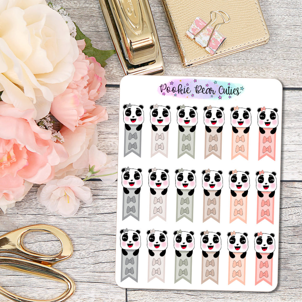 Pookie Bear Mini Bow Checklists