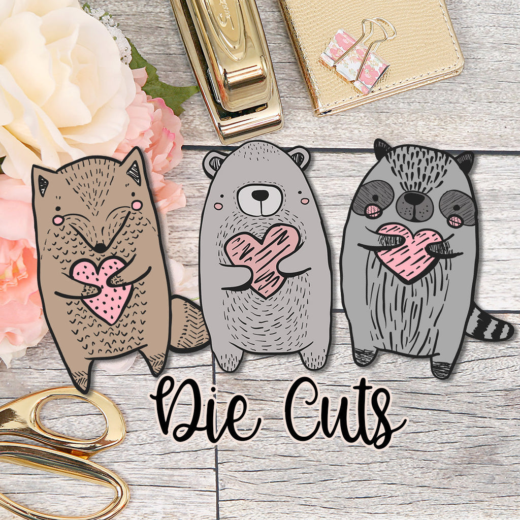 Woodland Cuties Die Cut Pack