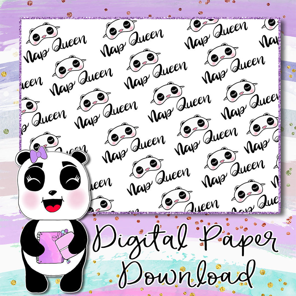Nap Queen Digital Paper
