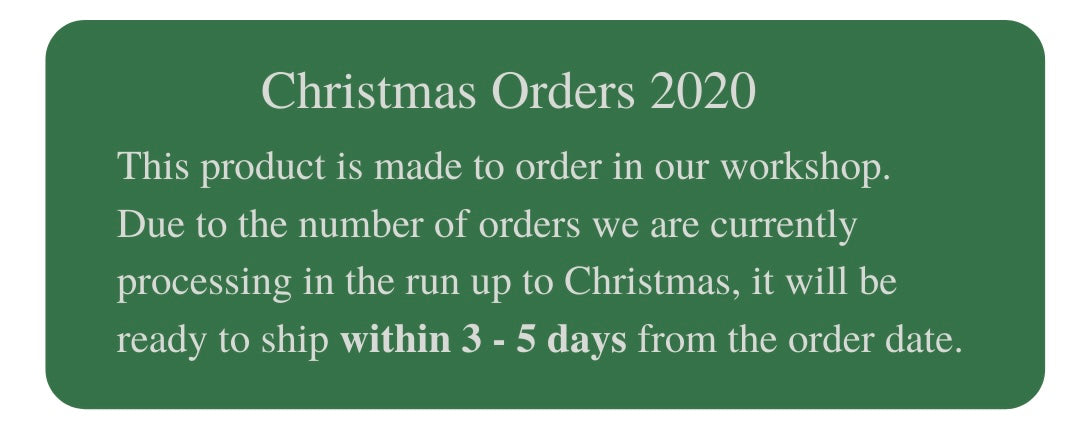 Christmas orders, ready to ship within 3-5days