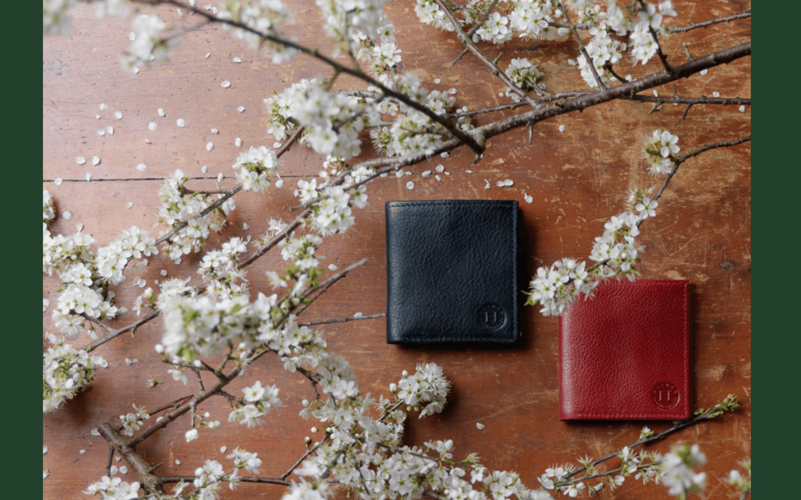 Handmade leather wallets for men and women