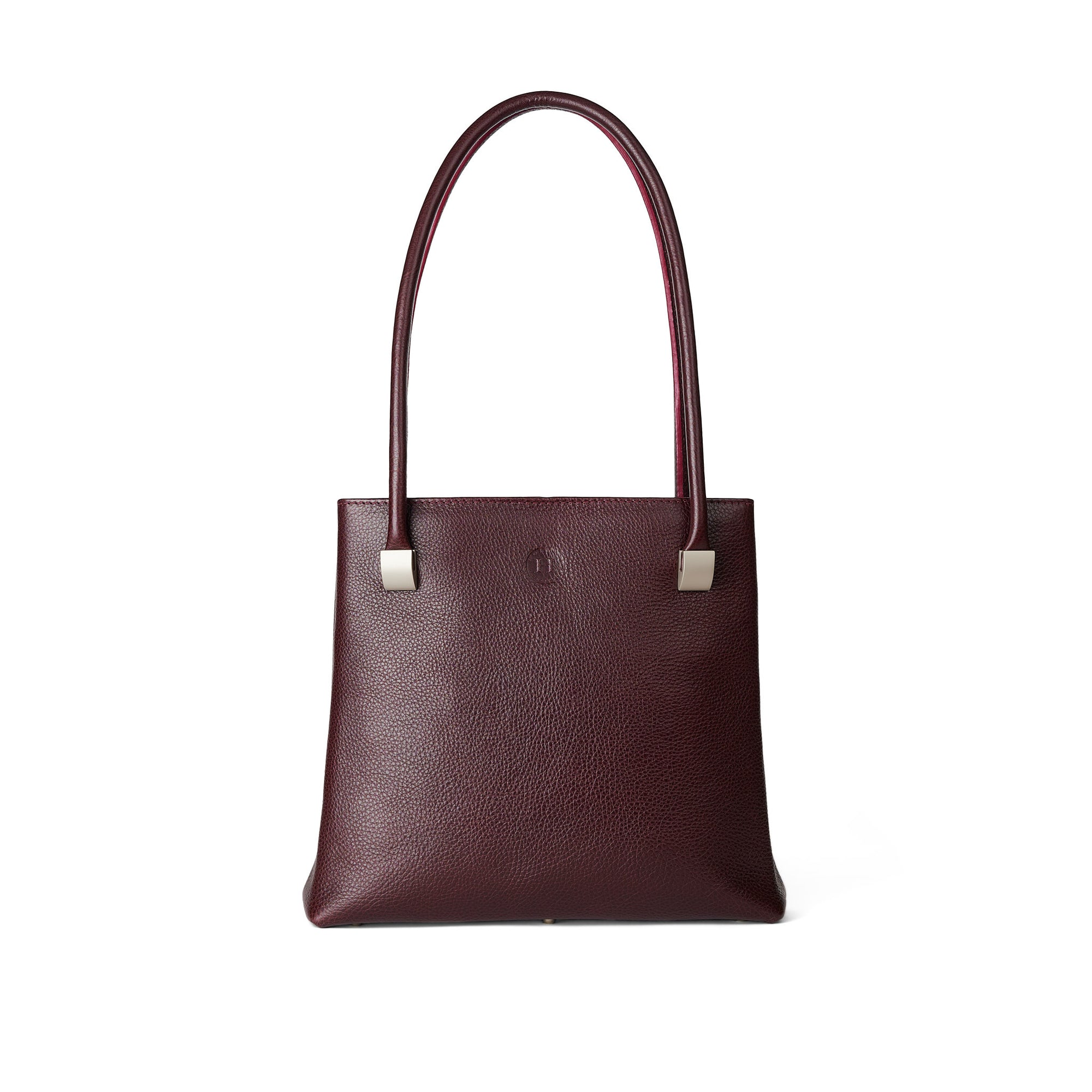 Aoife Large Shoulder Bag - Burgundy
