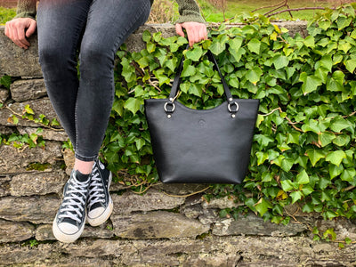 Caitlin Large Tote - Black