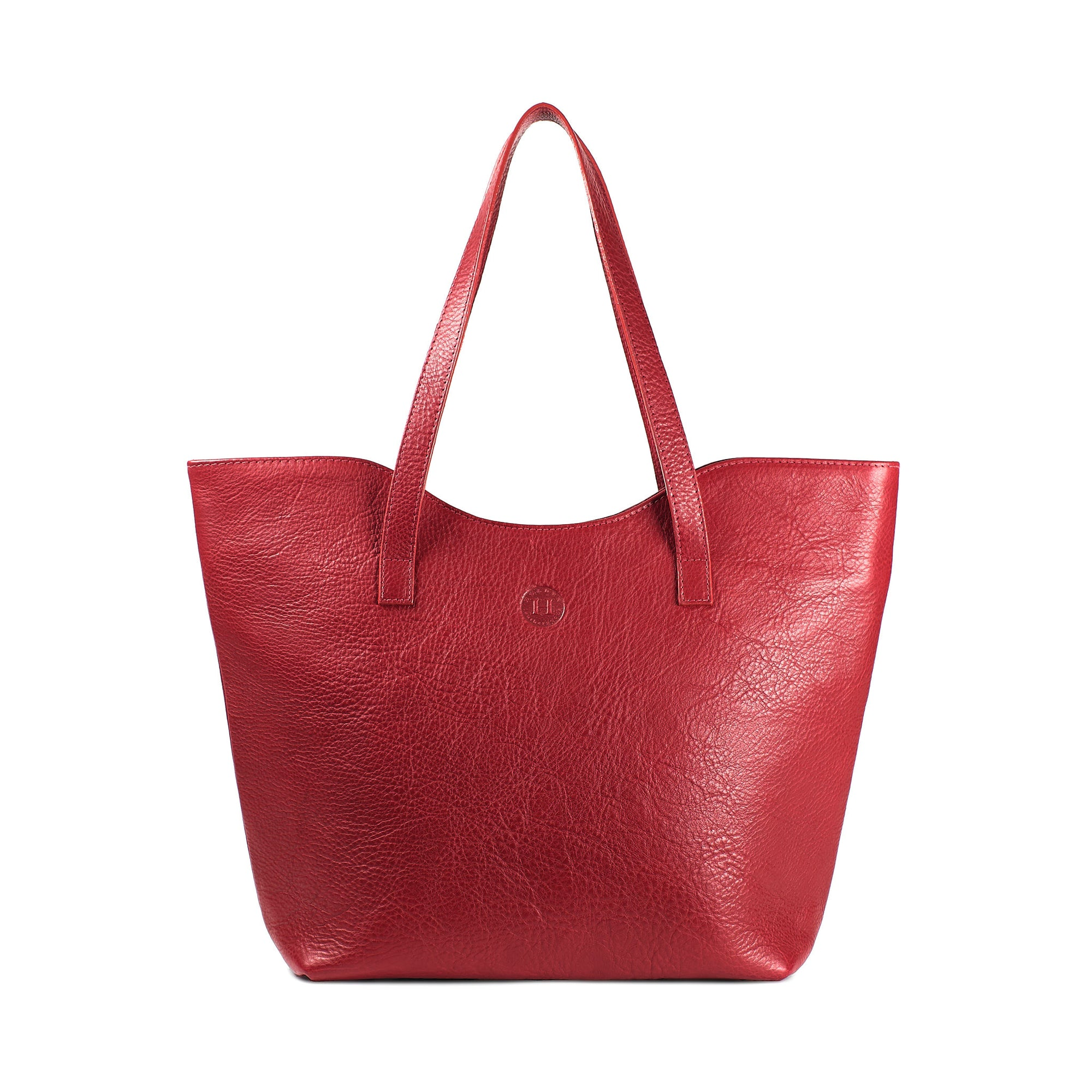 Caitlin Classic Large Tote - Red