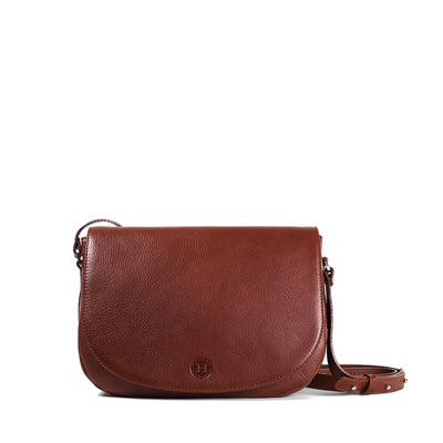 Carmel Large Saddle Bag - Chestnut