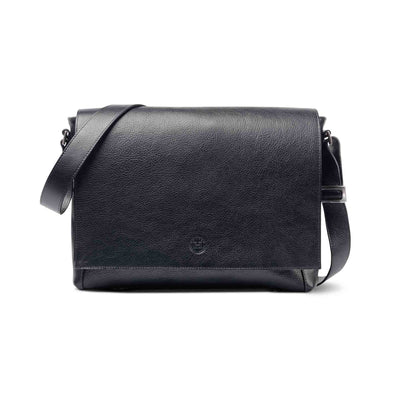 Holden Leather Laptop Bag Black - Holden Leathergoods, leather bags handmade in Ireland