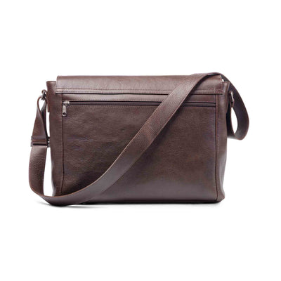 Holden Leather Laptop Bag Brown - Holden Leathergoods, leather bags handmade in Ireland - 2