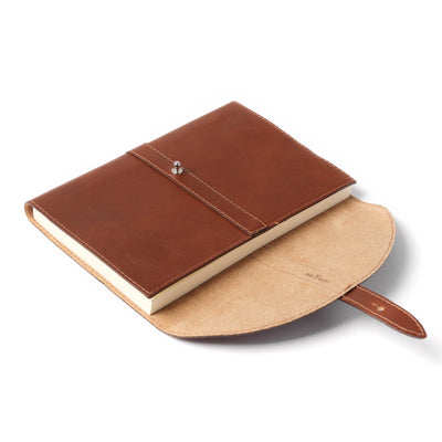 Holden Wraparound Journal - Dark Brown
