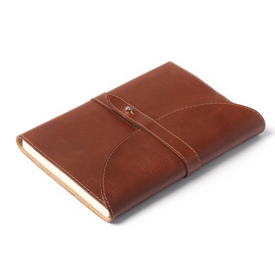 Holden Wraparound A4 Journal - Chestnut