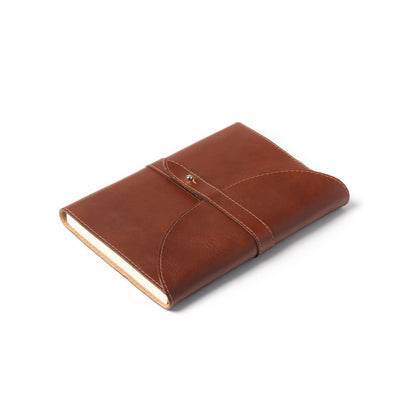 Holden Wraparound A5 Journal - Dark Brown