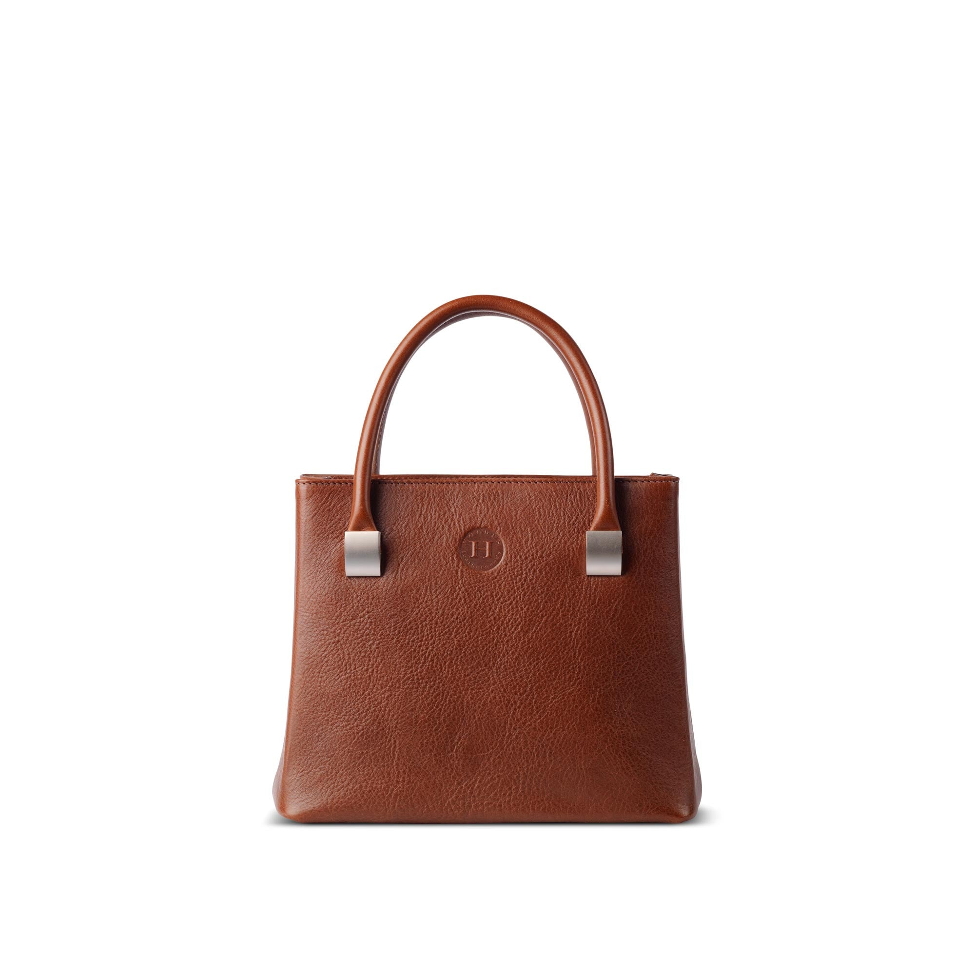 Aoife Leather Handbag Medium Brown - Holden Leathergoods, leather bags handmade in Ireland