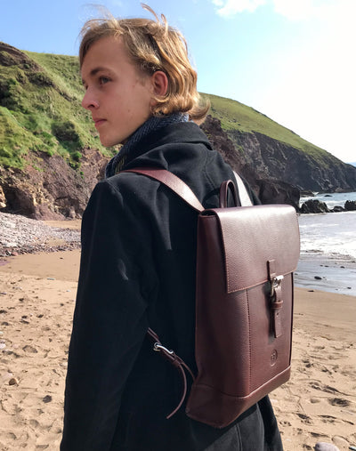 Holden Laptop Backpack - Dark Brown