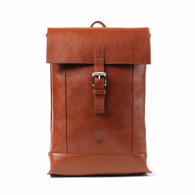 Dervla Large Backpack - Chestnut