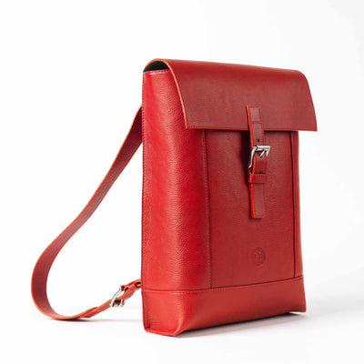 Dervla Large Backpack - Red