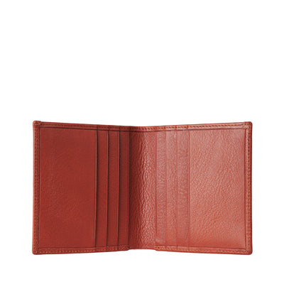 Holden 8 Card Wallet - Chestnut