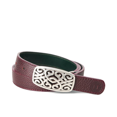 Holden Brandon Celtic Belt - Burgundy