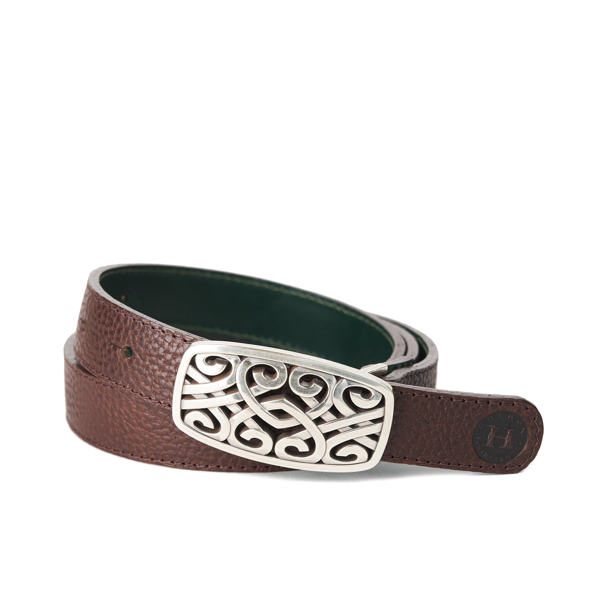 Holden Brandon Celtic Belt - Dark Brown