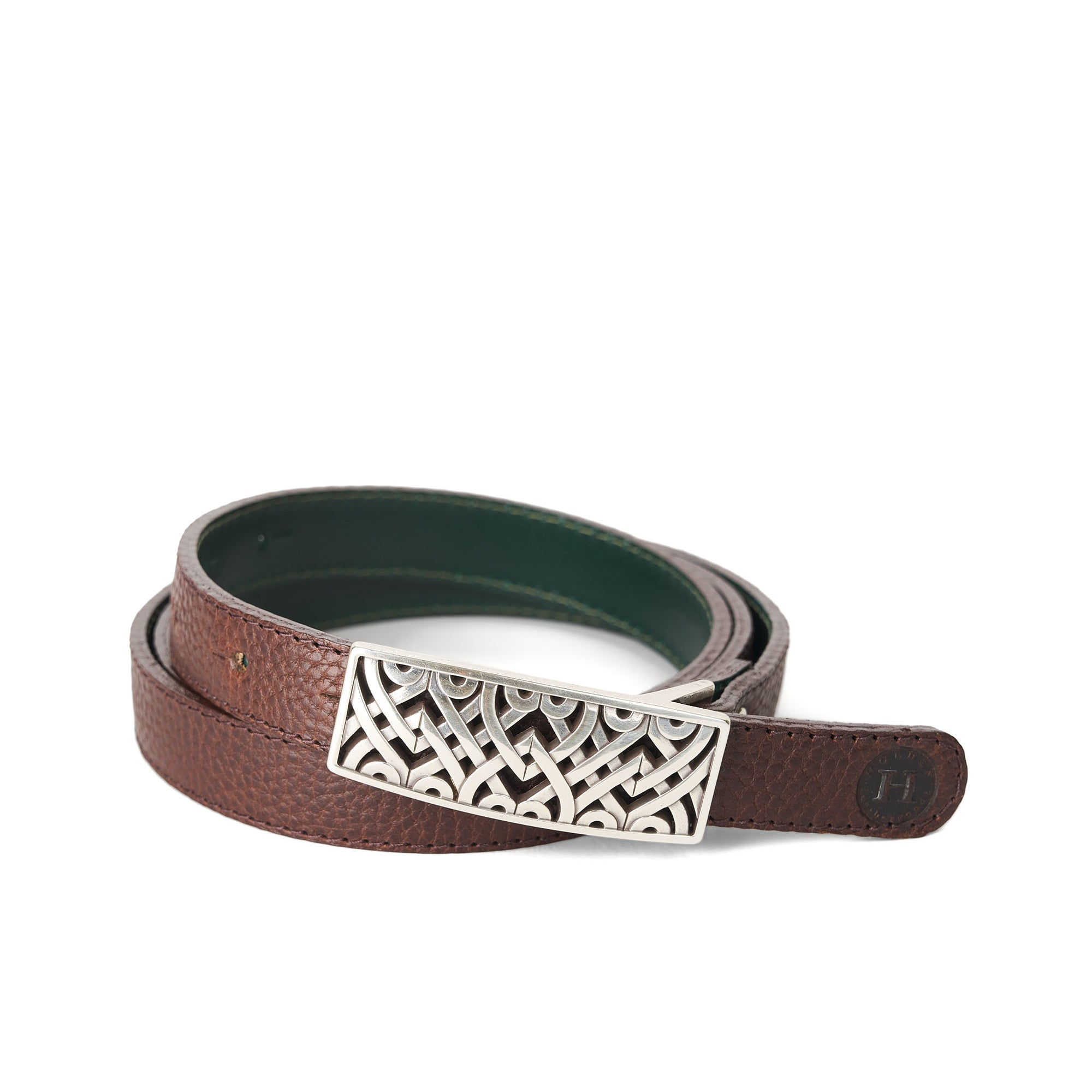 Holden Dúnbeg Celtic Belt - Dark Brown