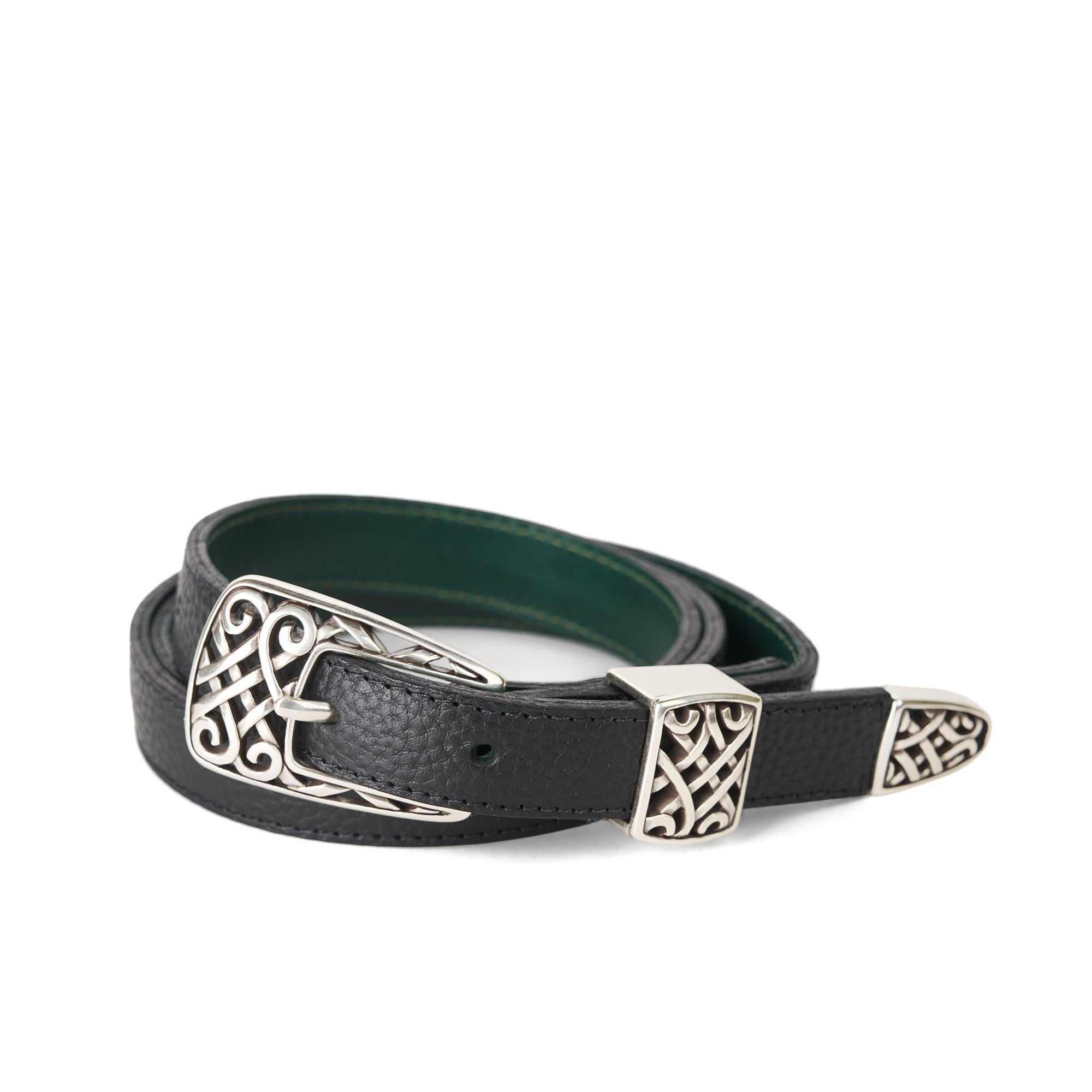 Holden Gallarus Celtic Belt - Black