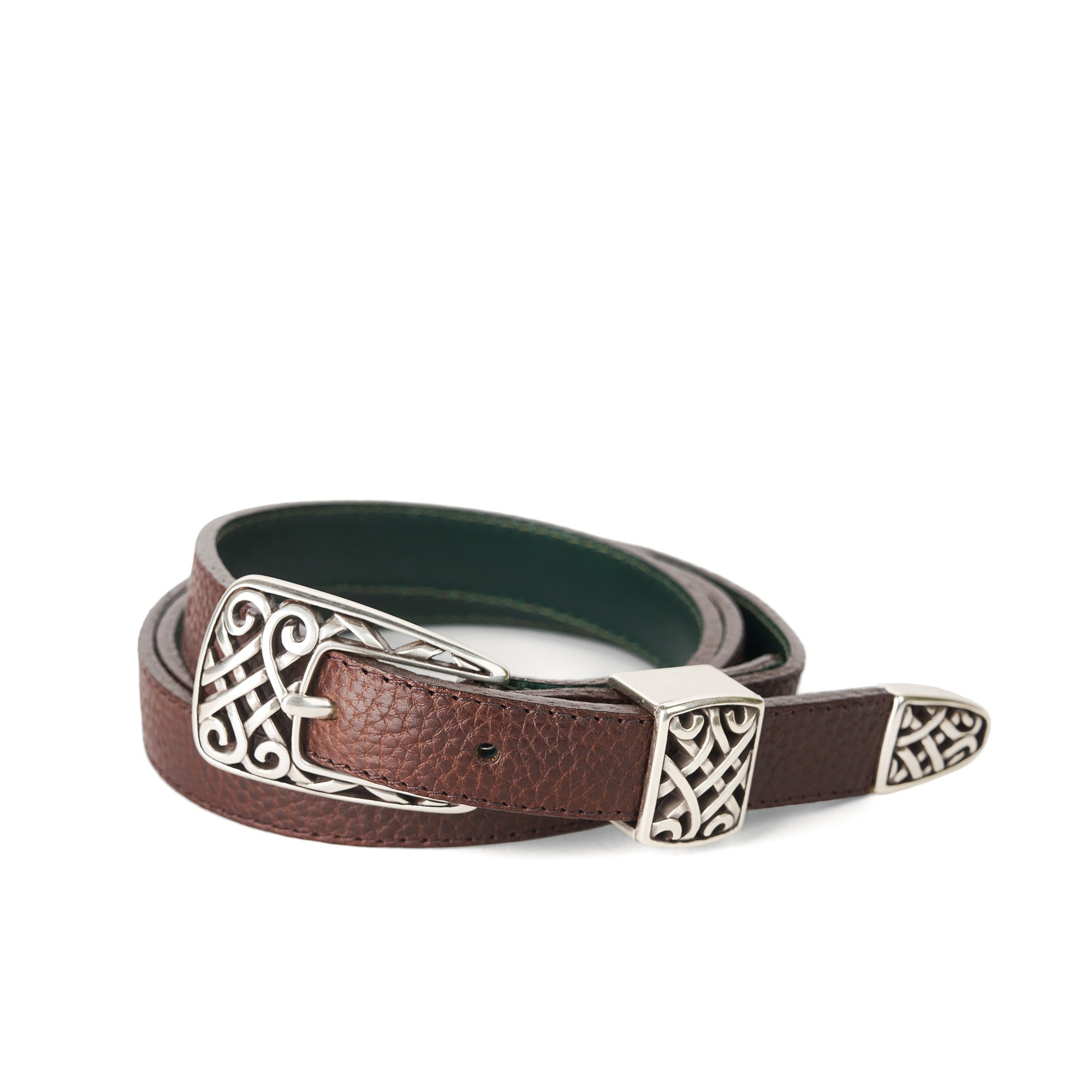 Holden Gallarus Celtic Belt - Dark Brown