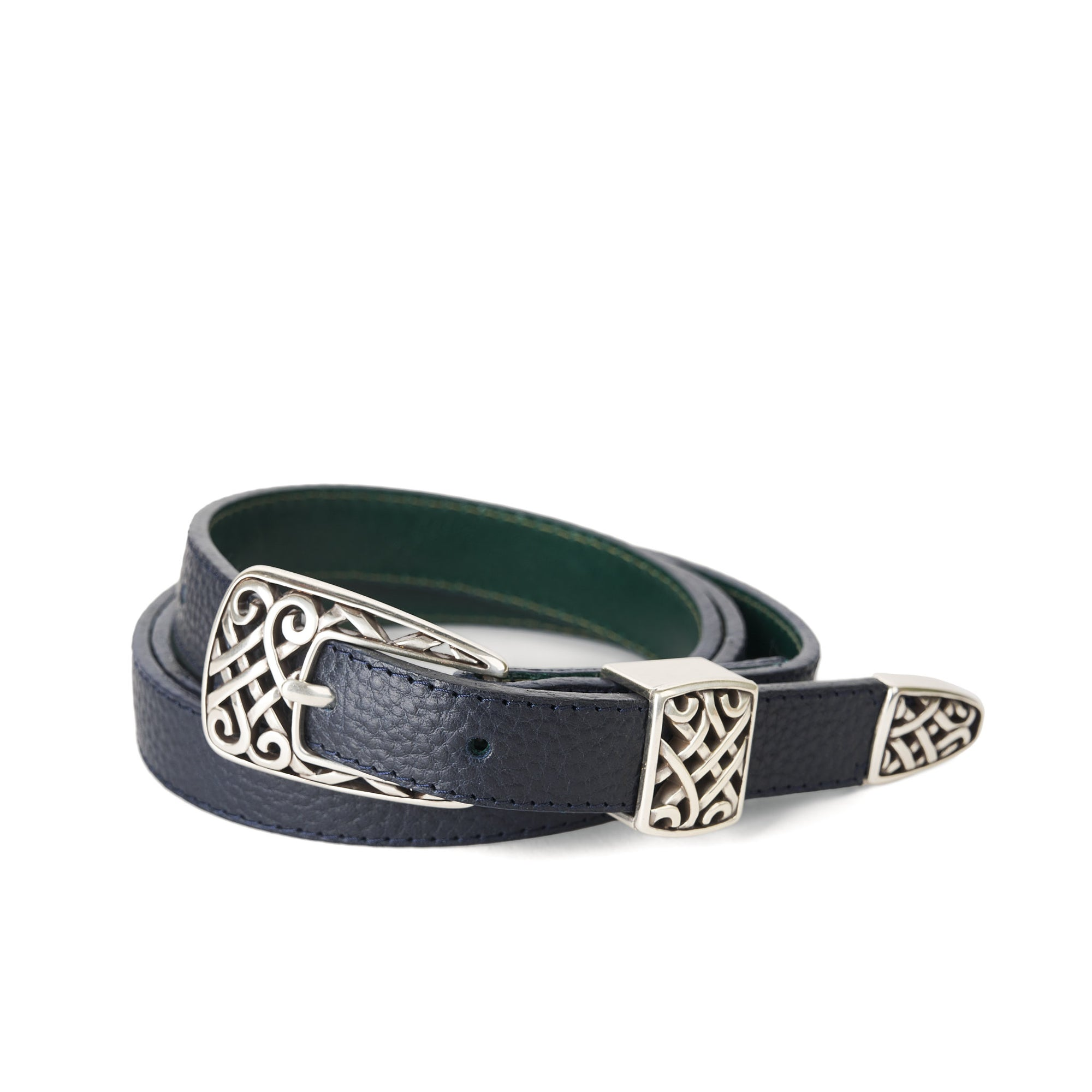 Holden Gallarus Celtic Belt - Dark Navy