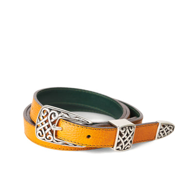 Holden Gallarus Celtic Belt - Mustard