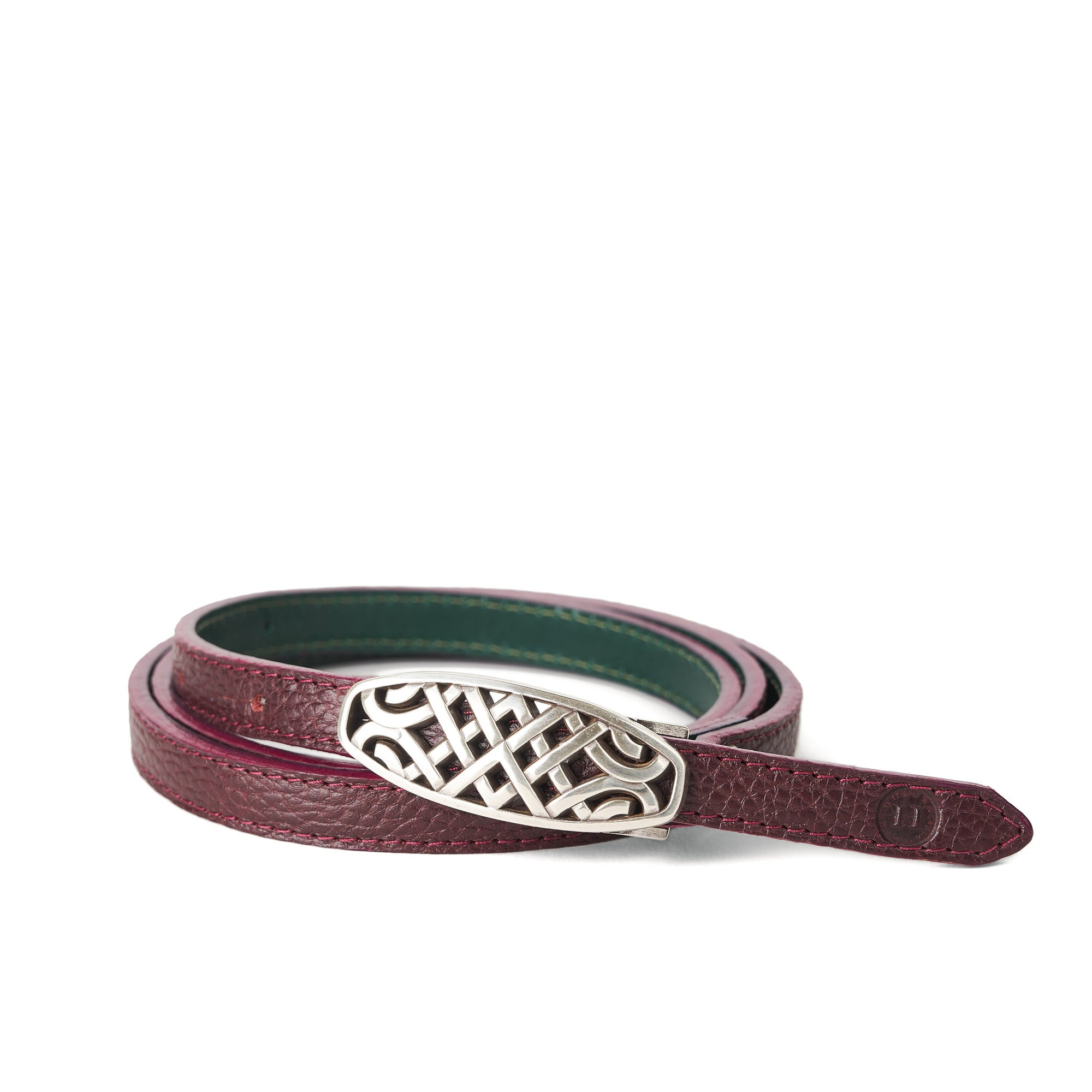Holden Ríasc Celtic Belt - Burgundy