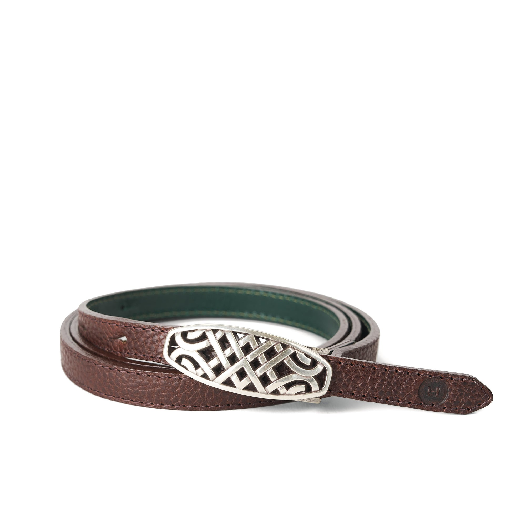 Holden Ríasc Celtic Belt - Dark Brown