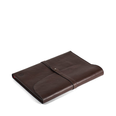 Holden Wraparound A4 Journal - Dark Brown
