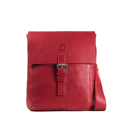 Holden Compact Messenger Bag - Red