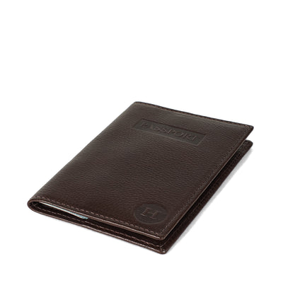 Holden Passport Cover - Dark Brown