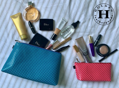 Holden Cosmetic Bags and Purses - Geo Finish