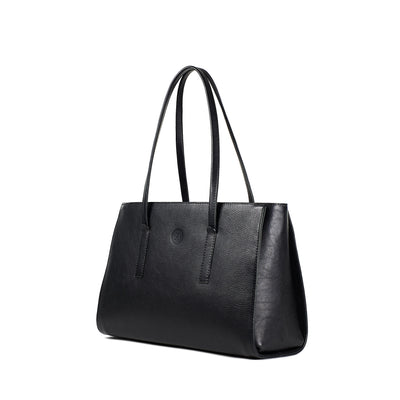 Isabel Large Shoulder Bag - Black