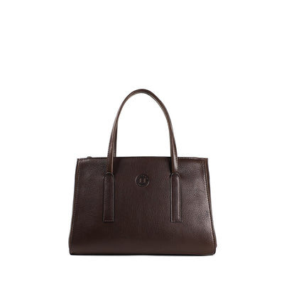 Isabel Small Handbag - Dark Brown