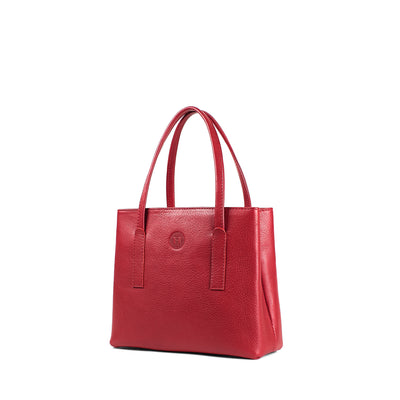 Muireann Small Handbag - Red