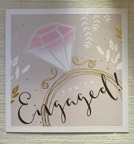 Engagement / Wedding / Anniversary - Large Luxury Cards
