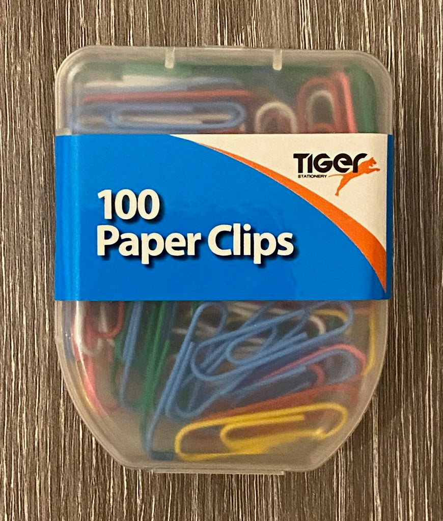 Paper Clips - Coloured