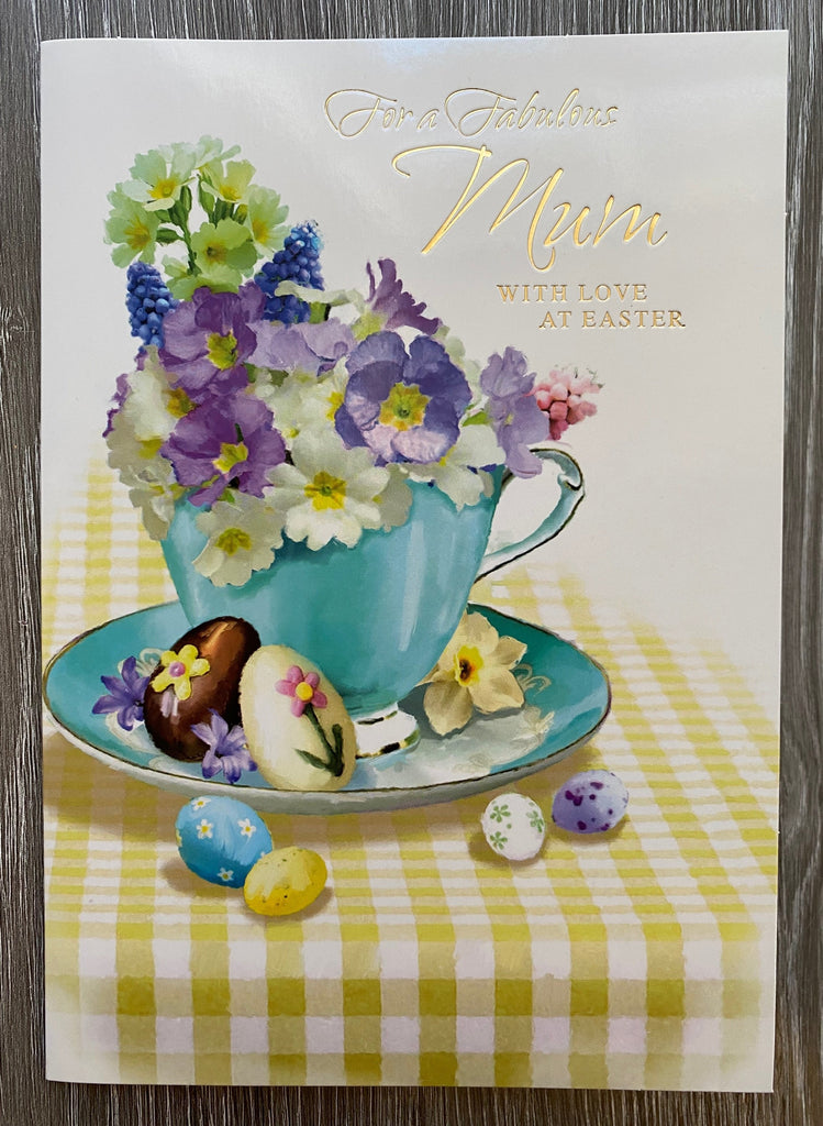 For a Fabulous Mum with Love at Easter
