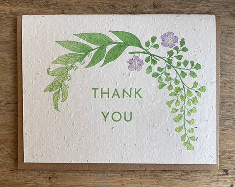 Thank You - Seed Card