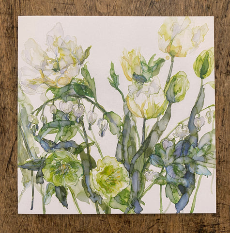 Tulips and Hellebore