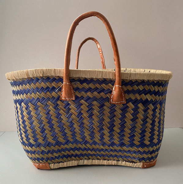 Drawstring Shopper Basket