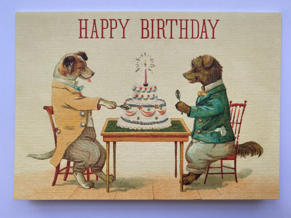 Happy Birthday Cards - Vintage Style