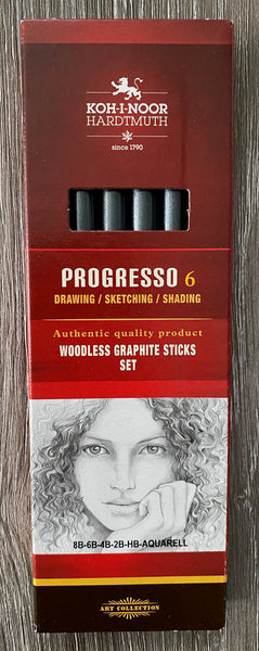Graphite Sticks Set Woodless
