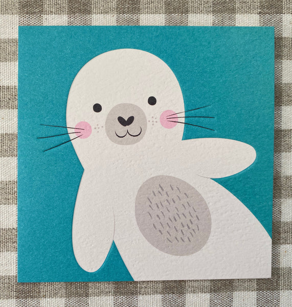 Seal Pup Blank Card