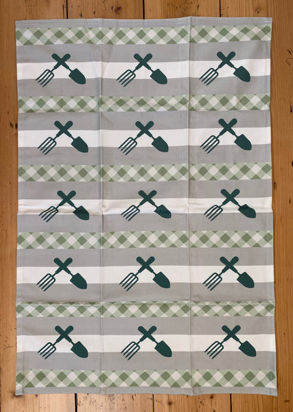 100% Cotton Printed Tea Towel - Various Designs