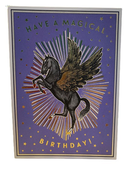 Magical Birthday Unicorn Cards