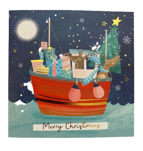 Christmas Cards - Fishing Boat